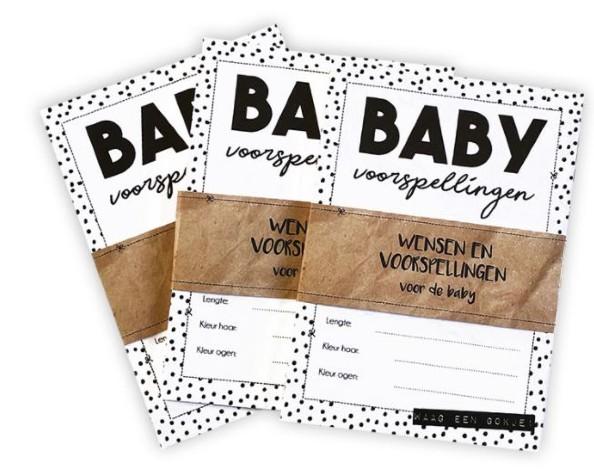 Babyvoorspellingskaarten